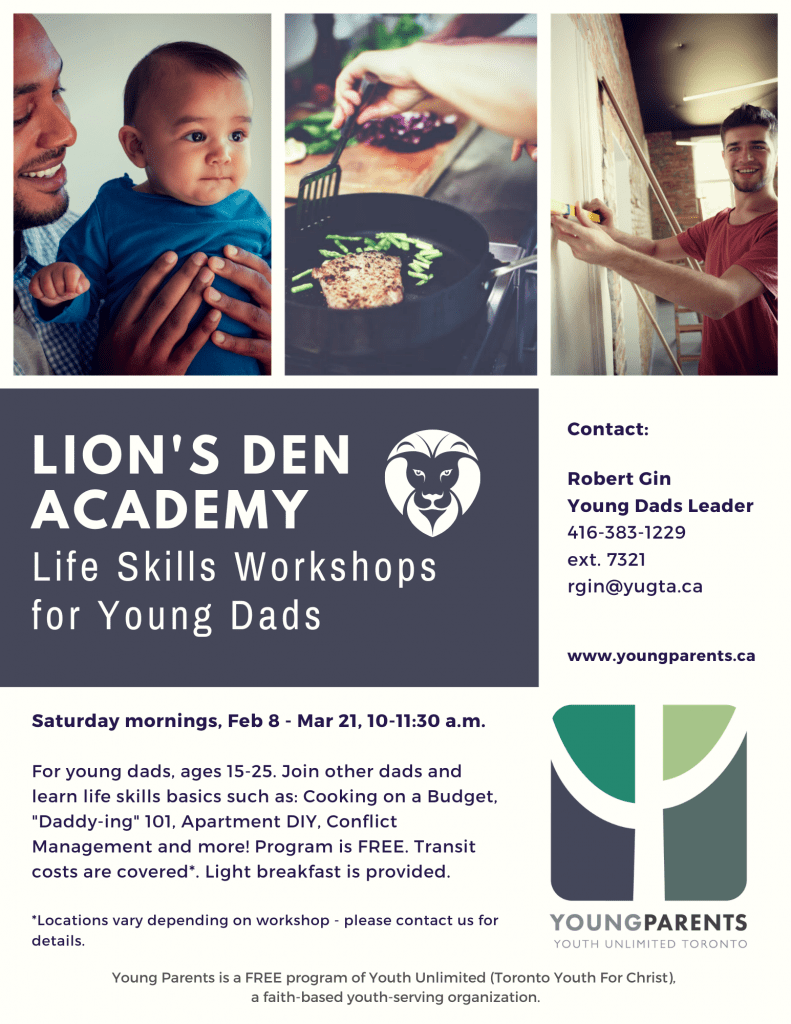 Young Dads Lion's Den Academy